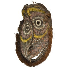 Large Basketry Gable Mask from Papua New Guinea