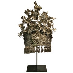 Silver Miao Tribal Crown, Bridal Crown