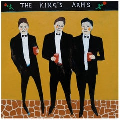 'Defenders of the Realm' Portrait Painting by Alan Fears Folk Art