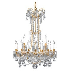 Baccarat Crystal Twenty-Four-light Chandelier