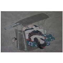 Original and Framed Shunga Prints