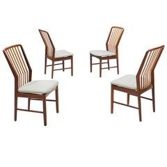 Svend A. Madsen Teak Dining Chairs