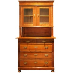 Art Nouveau Cherry Wood Buffet / Kitchen Cabinet from Germany