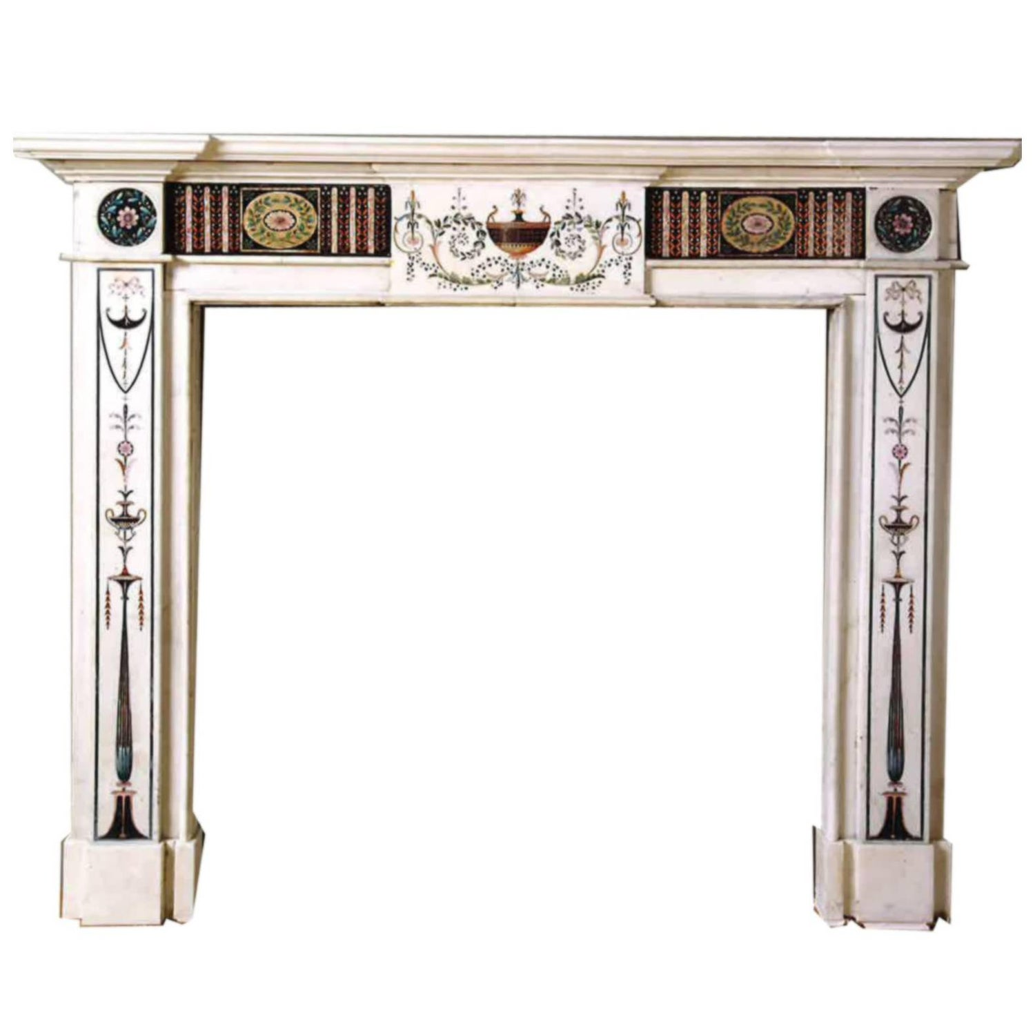 inlay fireplaces and mantels 37 for sale at 1stdibs