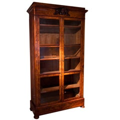 Mahogany Bookcase, First Half of the 19th Century