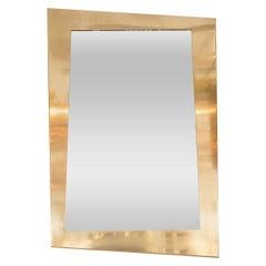 Brass Trapezoidal Mirror