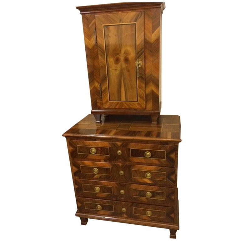 Louis Seize Commode with Attachment