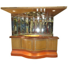 Paul Williams Custom Built Bar from Bel Air California Residence