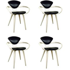 Set of Four Cherner Armchairs for Plycraft