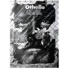 Original First Printing Poster by German Designer Gunter Rambow, 1978