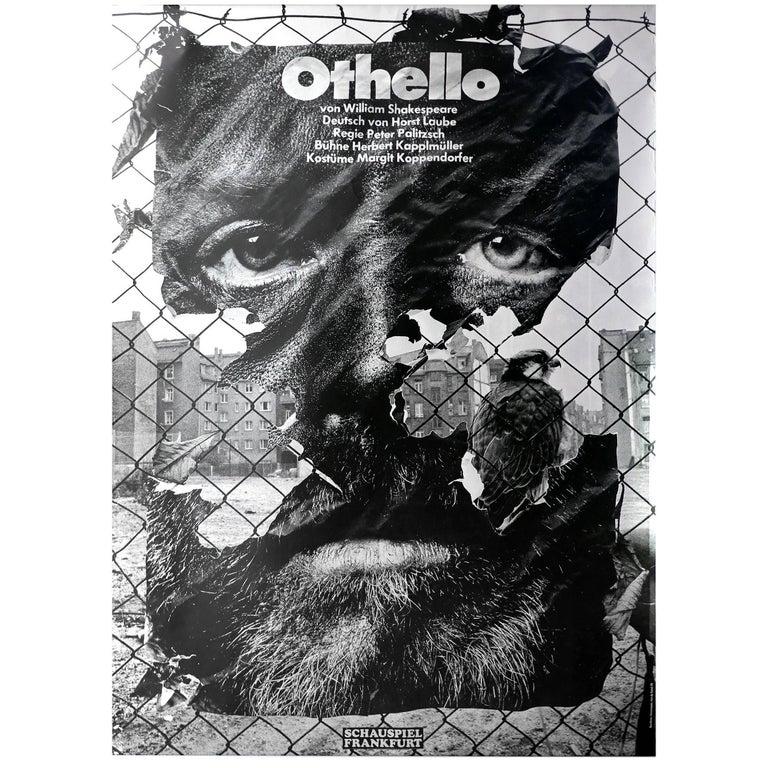 Original First Printing Poster by German Designer Gunter Rambow, 1978 For Sale