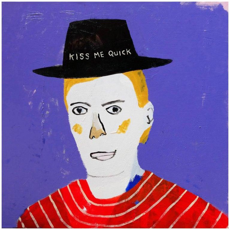 'The Desperado' Portrait Painting by Alan Fears Pop Art