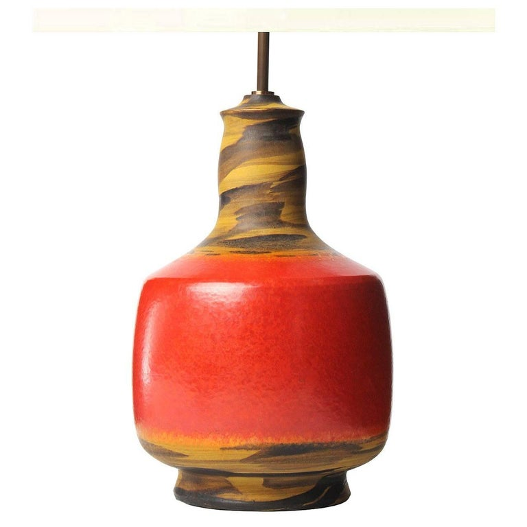 Italian Ceramic Table Lamp 1