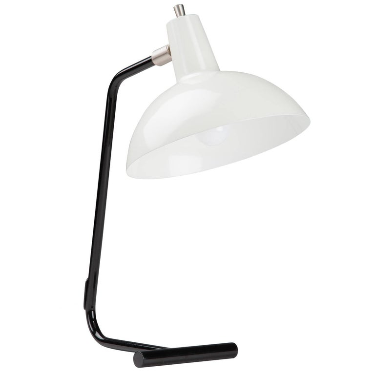 J.J.M. Hoogervorst White 'Director' Table Light for Anvia