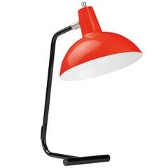 J.J.M. Hoogervorst Red 'Director' Table Light for Anvia