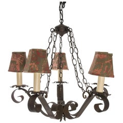 Gothic Wrought Iron Chandelier