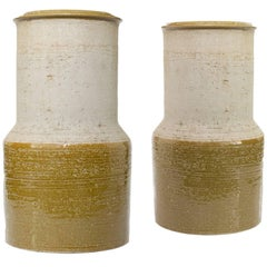 Scandinavian Modern Large Studio Vases by Hertha Bengtson for Rorstrand