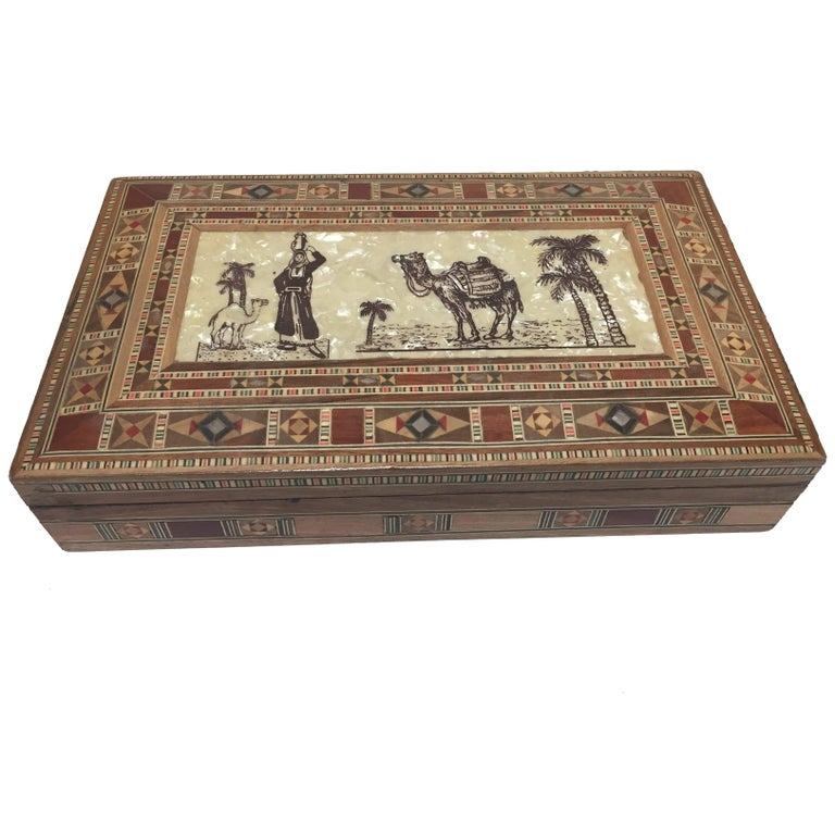 Middle Eastern Syrian Decorative Box