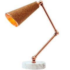 Lanterna Cork Table Lamp by Merve Kahraman