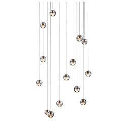 Bocci 14.14 Fourteen Pendant Suspension Fixture in Cast Glass