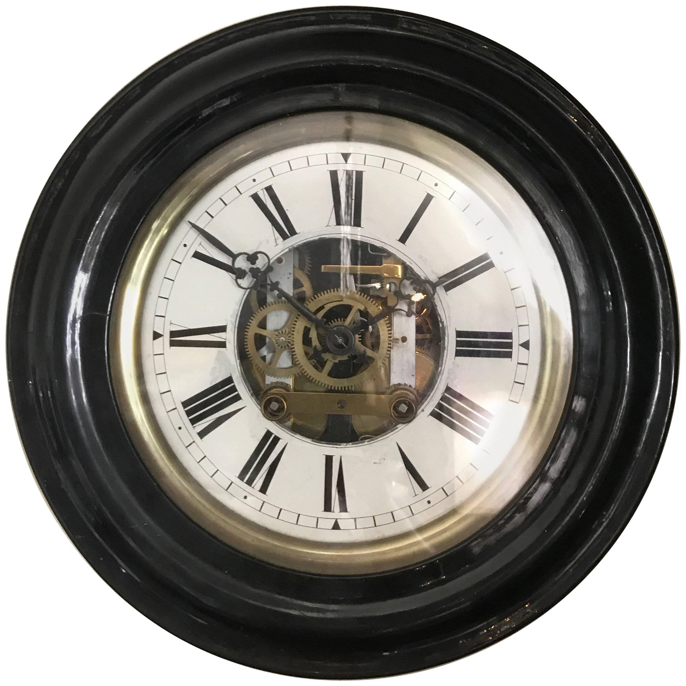 late 19thearly 20th century french wall clock