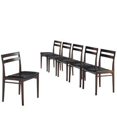 Rosengren Hansen Set of Six Rosewood Dining Chairs
