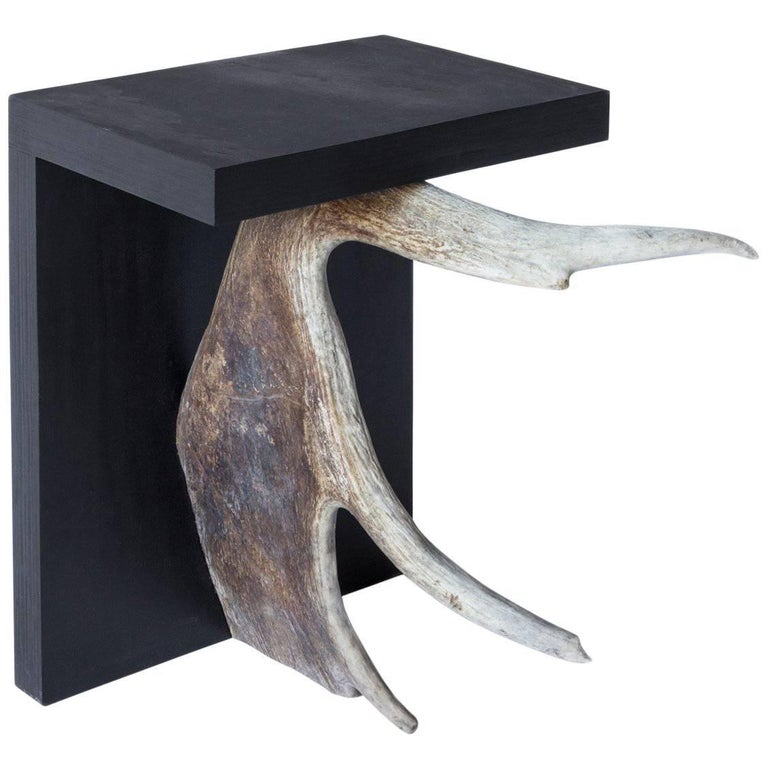 Rick Owens Stag T Stool in Black 1