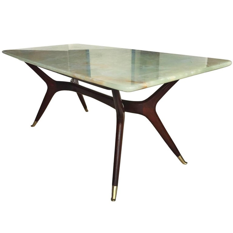 Mid-Century Modern Italian Coffee Table attributed to Ico Parisi, 1950s 1