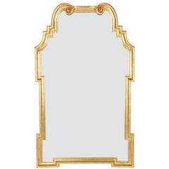 Ornate 1960s Gilded Mirror by Labarge