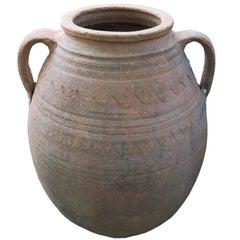 Unglazed Terracotta Jar