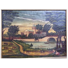 18th Century Naive Landscape