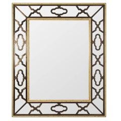 Mirror with Iron Overlay