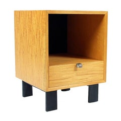 BCS Nightstand in Oak by George Nelson for Herman Miller