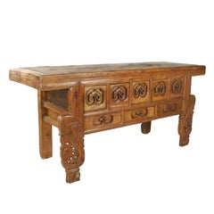 Chinese Eight-Drawer Ruyi Altar Coffer