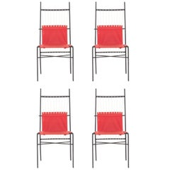 Set of Four Paul McCobb Dining Chairs