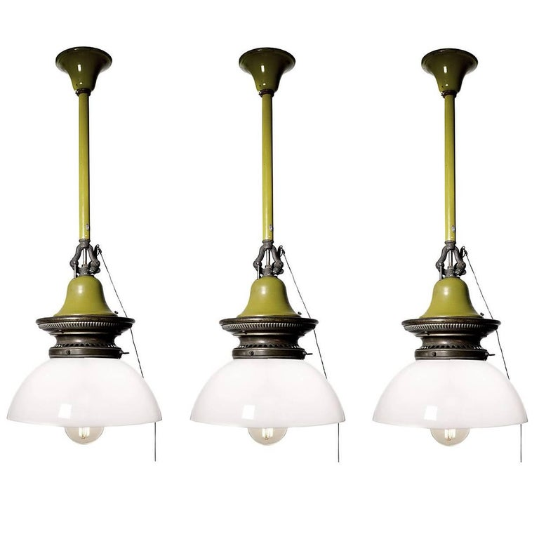 Humphrey Electrified Gas Lamps