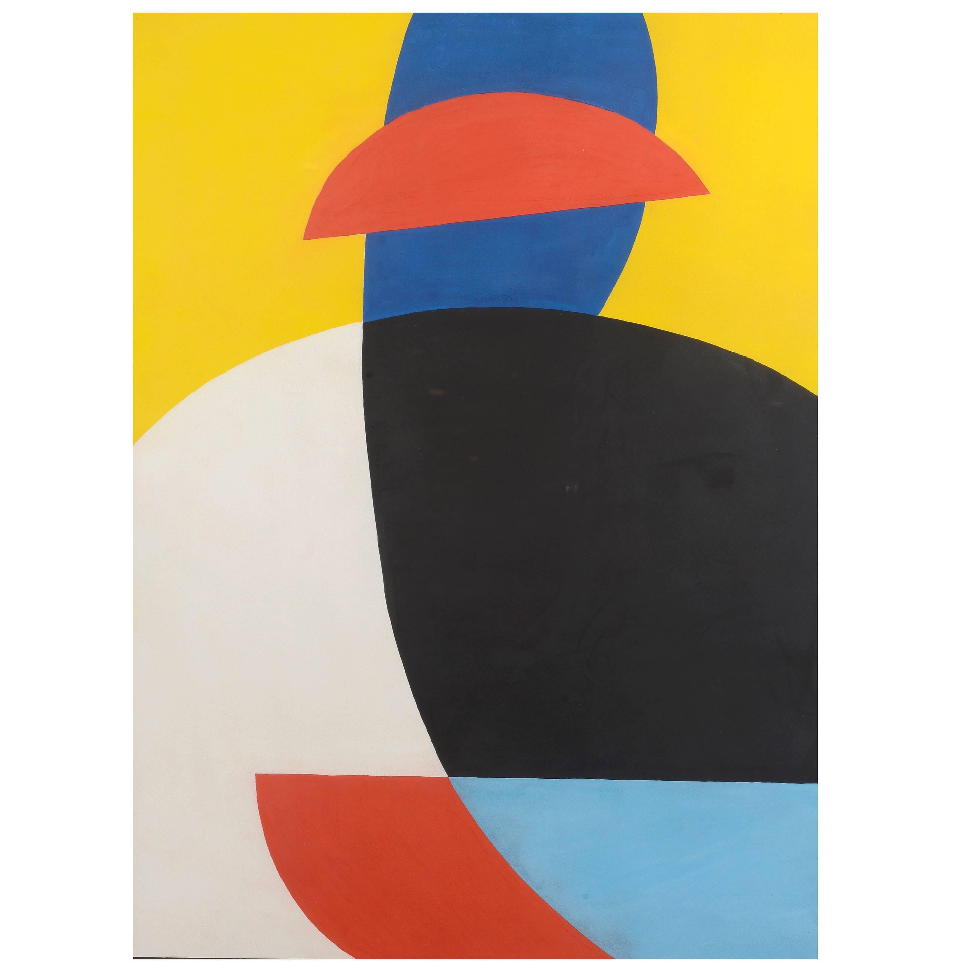 """""""Composition"""" by Etienne Beothy, 1919-1959"""