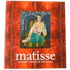 """Matisse His Art and His Textiles,"" First Edition Book"
