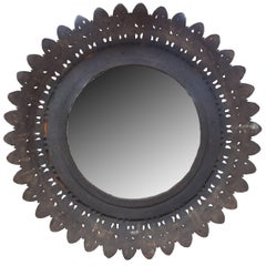 French Cast Iron Mirror