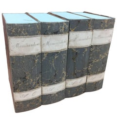 Vintage 19th Century Italian Book Boxes