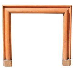 Antique Bolection Pine Fire Surround