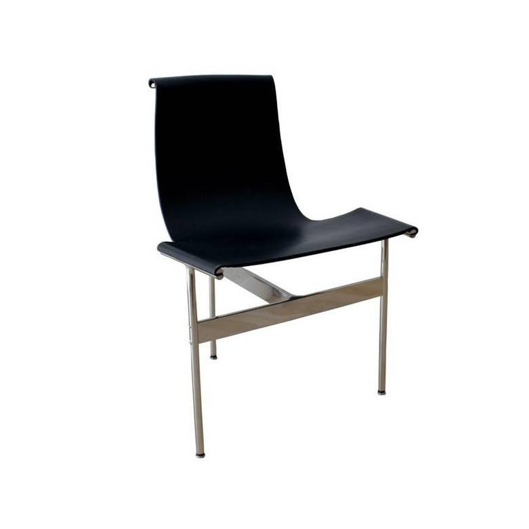 TG-10 Steel and Sling Leather Chair Set by Katavolos, Littel & Kelly