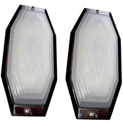 Superb Pair of Art Deco Wall Lights, circa 1930