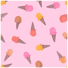 Ice Cream Wallpaper from the For the Very Young Collection