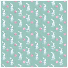 Bunnies, Wallpaper from the For the Very Young Collection