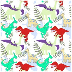 """''Jurassic"""" Wallpaper from the for the Very Young Collection"""