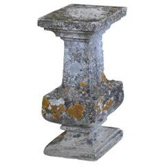 French 18th Century Pedestal in Stone