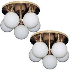 Stilnovo Pair of Ceiling or Wall Lights