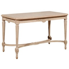 Swedish 20th Century Painted Gustavian Style Coffee Table