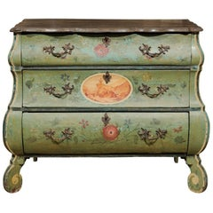 Small Hand-Painted Commode from Italy, circa 1860